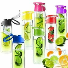 1 X Infusion Water Bottle with Fruit Infuser Aqua Hydration Sports Bottle