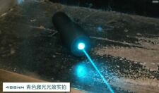 Waterproof 488nm cyan-Blue Ray Handheld Dot Laser Pointer Presentation Torch
