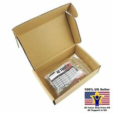 10value 100pcs Electrolytic Capacitor Assortment Kit US Seller KITB0001