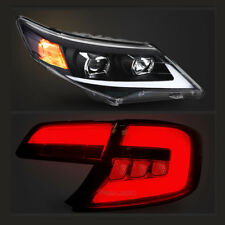 LED Headlights | Smoked Tinted Tail Lights For Toyota Camry 2012-2014