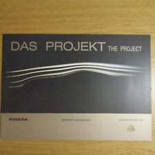 MAYBACH EXELERO Fulda Das Projekt The Project German & English Brochure 2005
