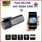 WiFi Hidden 1080P Mini CAR dash cam rear camera DVR dual lens video recorder APP
