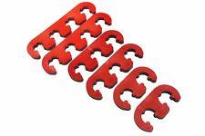 Red V8 Ignition Lead Brackets Seperators Set Ignition Spark Plug Wires