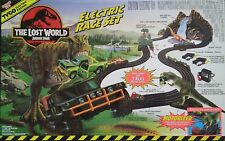 The Lost World Jurassic Park TRex Mattel TYCO Nissan Hummer Humvee Race Set 6242