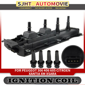 Ignition Coil fit Peugeot 306 406 605 Citroen Xantia XM Xsara 94-00 1.8L 2.0L