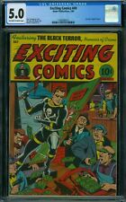 Exciting Comics 49 CGC 5.0 - OW/W Pages