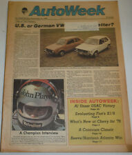 AutoWeek Magazine U.S. Or German VW Which Is Better September 1978 123014R