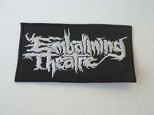 EMBALMING THEATRE EMBROIDERED PATCH