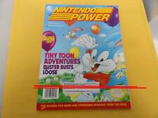 #46 46 Nintendo Power TINY TOON ADVENTURES for SNES NES Game System