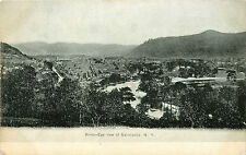 SALAMANCA NY BIRD'S-EYE VIEW 1908 P/C