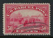 SCOTT Q10 1913 50 CENT DAIRYING PARCEL POST ISSUE USED VF CAT $45!