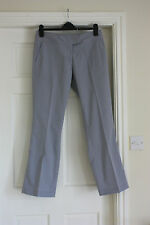 New Adidas Grey Clima cool Stretch golf trousers adjusts to 3/4 length size 12