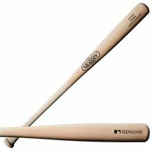 Louisville Slugger Genuine Ash 3X Wood Baseball Bat Natural WTLW3AMIXB16
