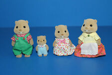 Calico Critters Woodbrook Beaver Family Set