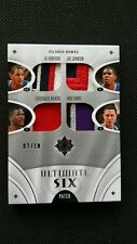 AL HORFORD/WILKINS/WEBB/JOHNSON/BIBBY UD ULTIMATE COLLECTION SIX PATCH #/10! SP!