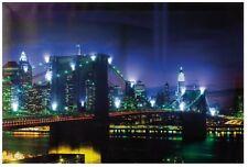 LED Bild Brooklyn Bridge mit 16 Led´s Hammer Design inkl. Batterien