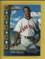Pedro Martinez 1998 Collector's Choice Starquest Single Card # SQ12 Red Sox MLB