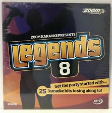 Zoom Karaoke Legends Series CD+G - Volume 8 - The Beatles & Friends Favourites