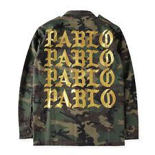 I FEEL LIKE PABLO CAMOUFLAGE ARMY GOLD UNISEX JACKET: bomber yeezus tour kanye