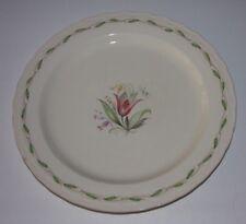 Vintage 1940s Burleigh Ware Princess 10 inch plate