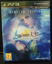 FINAL FANTASY X E X-2 HD REMASTER LIMITED EDITION VERSIONE ITALIANA NUOVO  PS3