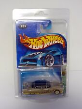 Hot Wheels Cadillac Eldorado Brougham 1957 #009 T-HUNT Die-Cast 9/12 MOC 2003