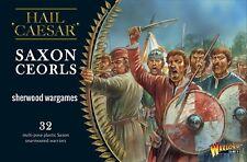28mm Warlord Saxon Ceorls, Hail Caesar, Saga, Swordpoint Dark Ages, BNIB