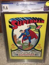 Superman #1 CGC 9.6 DC 1999 Reprint! Classic Masterpiece! NM+! F12 119 cm clean