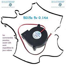 ventilateur fan brushless 5015s 5v dc 0.14A 3d print cnc