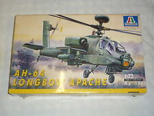 A factory Sealed Itateri un made plastic kit of a AH- 64 Longbow Apache copper