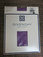 Vintage Givenchy Purple Pantyhose Style #212 NIP French Ultra Sheer Size C