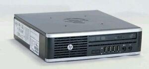 HP Elite 8000 USFF Intel Pentium 1.6GHz 250Gb SATA HDD 4GB DDR3 Ram Win 7 WiFi