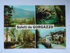 Saluti da GORGAZZO vedutine vecchia cartolina Pordenone