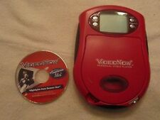 A Red VideoNow Personal Video Player and a disc