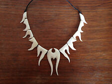 Goa Knochenschmuck Knochenkette Halskette Knochen Bone Tribal Kette Schmuck