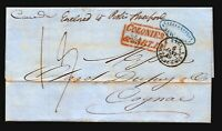 1848 (Nov 25) Retaliatory Rate Cover / RMS Canada / Liverpool to NY - L4732