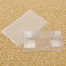 5X Full Page Magnifying Sheet Fresnel Lens 3X Magnification Magnifier