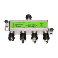 Brand New DIRECTV Approved SWM MRV 4-Way Wide Band Splitter MSPLIT4R1-03 Green