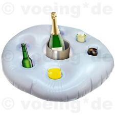 Aufblasbarer Getränkehalter Wasser-Tablett Bar Getränkeinsel Poolbar Wasserbar