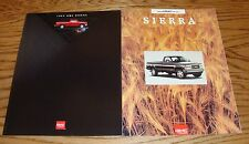Original 1993 1994 GMC Sierra Truck Sales Brochure Lot of 2 93 94