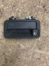 Passenger Left Outer Door Handle for 1989 - 1998 Geo Tracker 2 Door - Black