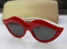 Face a Face Bocca 1 LE 63/200 Dali Mae West Red Lips Legs Polarized Sunglasses