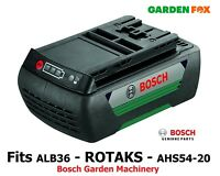 savers GENUINE Bosch 36V AHS54-20 ROTAK ALB36 Battery F016800474 3165140824064