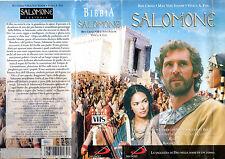 Salomone (1997) VHS SanPaolo  1a Ed.  Doppia VHS in Cofanetto