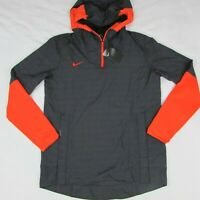 Nike Men's Team Lightweight Jacket CI4477-011 Orange & Black Men's Medium $95