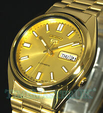 SEIKO 5 AUTOMATIC GOLD TONE SNXS80K1 SNXS80