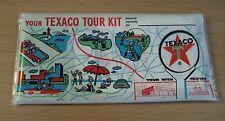 """1964 Maps/Cards~""""TEXACO TOUR KIT""""~California/Oklahoma~"""