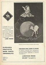 W0258 LANA ROSSI - Pubblicità 1931 - Advertising
