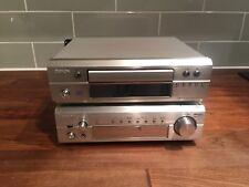 Denon DRA F101 AM FM Stereo Receiver DCD F101 CD Player PHONO STAGE