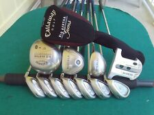 Ladies Callaway TaylorMade Irons Driver Wood Hybrid Complete Golf Club Set Women